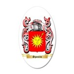 Sposito 20x12 Oval Wall Decal