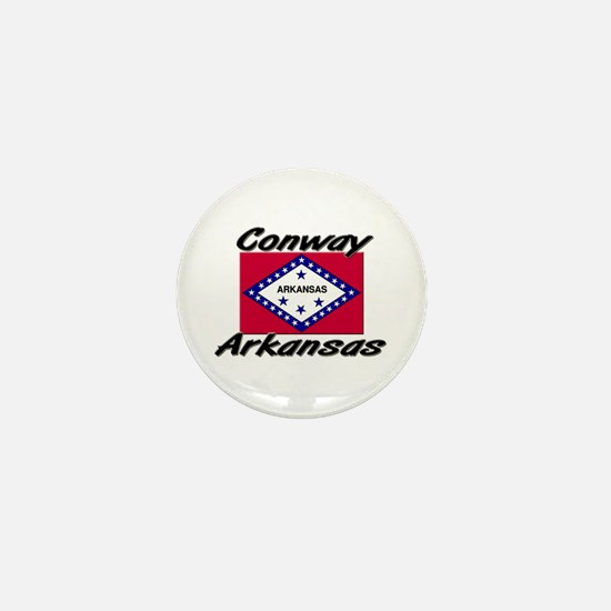 Conway Arkansas Mini Button