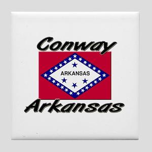 Conway Arkansas Tile Coaster
