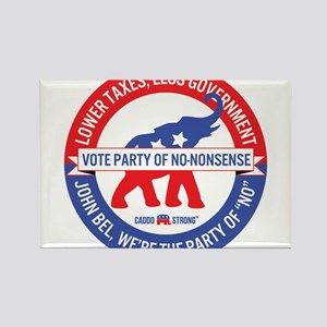 Party of No-Nonsense Magnets