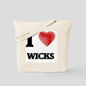 I love Wicks Tote Bag