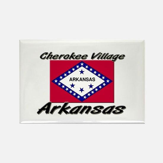 Cherokee Village Arkansas Rectangle Magnet
