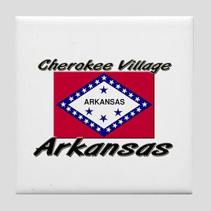 Cherokee Village Arkansas Tile Coaster