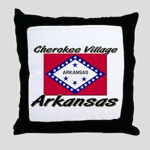 Cherokee Village Arkansas Throw Pillow