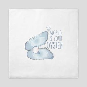 World Is Oyster Queen Duvet