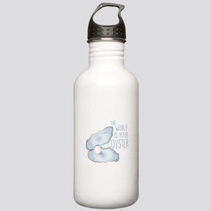 World Is Oyster Water Bottle