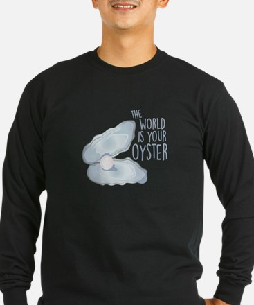 World Is Oyster Long Sleeve T-Shirt