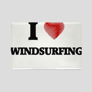 I love Windsurfing Magnets