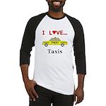 I Love Taxis Baseball Jersey