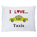I Love Taxis Dog Bed