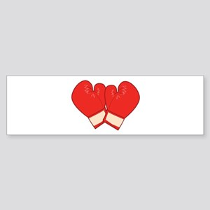 Boxing Gloves Bumper Sticker
