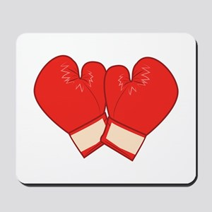 Boxing Gloves Mousepad