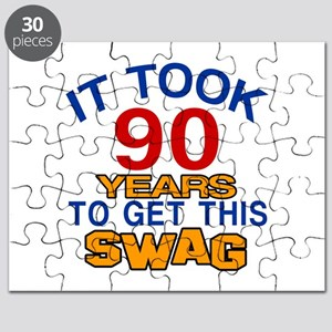 It Took 90 Years To Get This Swag Puzzle