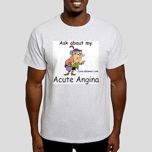 acute angina a cute vagina Light T-Shirt
