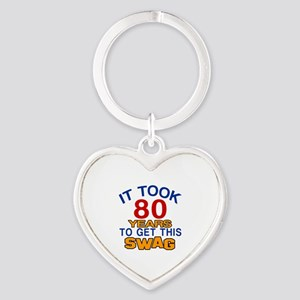 It Took 80 Years To Get This Swag Heart Keychain