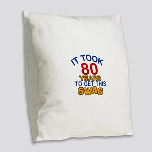 It Took 80 Years To Get This S Burlap Throw Pillow