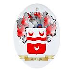 Springle Oval Ornament
