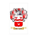 Springhall Sticker (Rectangle 10 pk)