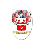 Springhall 20x12 Oval Wall Decal