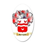 Springhall 35x21 Oval Wall Decal