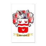 Springhall 20x12 Wall Decal