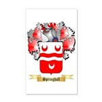 Springhall 35x21 Wall Decal