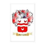 Springhall Mini Poster Print