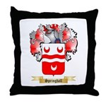 Springhall Throw Pillow
