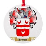 Springett Round Ornament