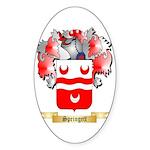 Springett Sticker (Oval 50 pk)