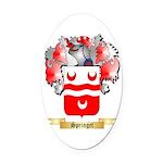 Springet Oval Car Magnet