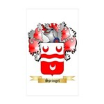 Springet Sticker (Rectangle 10 pk)