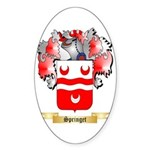 Springet Sticker (Oval 10 pk)