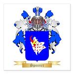 Spooner Square Car Magnet 3