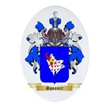 Spooner Oval Ornament