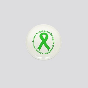 Lime Green Hope Mini Button