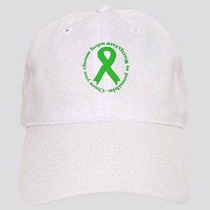 Lime Green Hope Cap