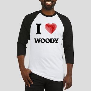 I love Woody Baseball Jersey