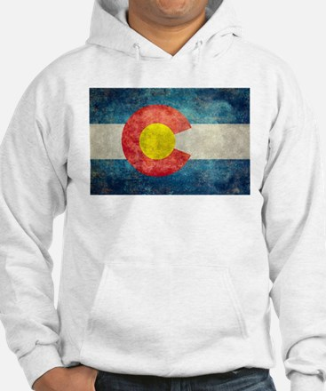 Colorado State flag retro style Jumper Hoody