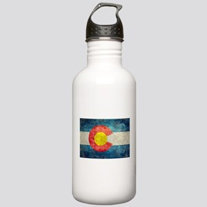 Colorado State flag re Stainless Water Bottle 1.0L