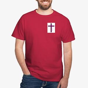 Chaplain Maroon Wine T-Shirt