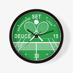 Tennis Wall Clock