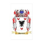 Spitaleri Sticker (Rectangle 50 pk)