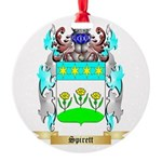 Spirett Round Ornament