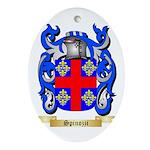 Spinozzi Oval Ornament