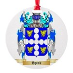 Spink Round Ornament