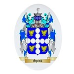 Spink Oval Ornament