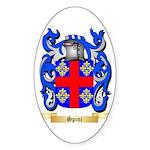 Spini Sticker (Oval 50 pk)