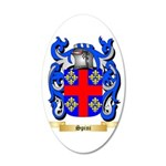 Spini 35x21 Oval Wall Decal