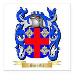 Spinello Square Car Magnet 3